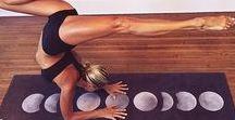 Jóga a cvičení doma / Jóga pro  začátečníky, cviky na hubnutí a protažení těla z pohodlí domova.
