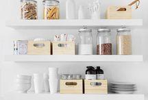 * Pantry * / Pantry organization, Kitchen storage // Organizar la despensa, mobiliario y complementos para guardar alimentos y botes en La Cocina.