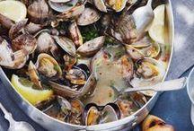 Seafood / Delicious recipes using shellfish or fish.