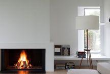 * Fireplace *