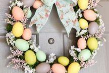 Velikonoce / Tradiční velikonoční výzdoba, zdobení vajíček, tvoření s dětmi