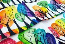 Tvoření s dětmi / Tvoření s dětmi doma, malování, jednoduché výrobky pro děti i dospělé, dekorace tvořené s dětmi