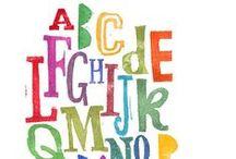 The Alphabet / Alphabets! / by LV Neiman
