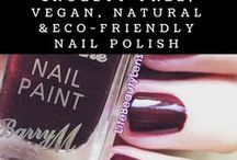 Cruelty-free, Vegan, Natural & Eco-friendly Nails / It's all about creating the healthiest and kindest nail polish collection.  For both you and the planet.