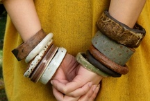 Bangles with a Purpose! / Vintage Bakelite bangles reinvented by TimeWIllTell!