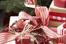 Christmas card & wrapping