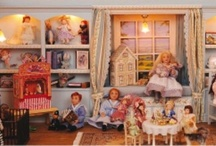 Dollhouse Nursery and Bathroom Ideas / Ideas for me to incorporate into my doll's house bathroom, nursery, and miniature toy shop