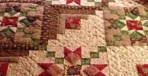 Patchwork and quilting - mini quilt ideas too / Yummy fabrics, and beautiful quilts (especially small ones).