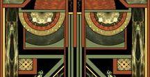 Art Deco / Colour palettes, design, etc.