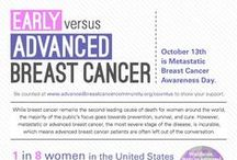 What is Advanced Breast Cancer? / What is #advancedBC and how is it different than earlier stages of the disease?