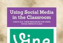 Utilizing Technology! / Want to enhance your classroom with various social media platforms? These pins will help you do just that!