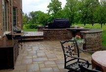 Patios & Fire Pits Chicagoland Area / Projects custom designed and built by Archadeck of Chicagoland.