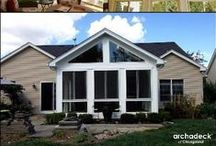 Premiere Chicago-Area Sunrooms / Projects custom designed and built by Archadeck of Chicagoland.