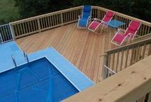 Pool & Spa Decks / Pool and spa decks custom designed and built by Archadeck of Chicagoland.