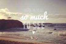 WORD / Inspirierende Wörter und Zitate // My favorite quotes around traveling and life.