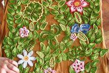 szydełkowe kwiaty