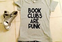 Bookish Attire / Literary fashion that we love!