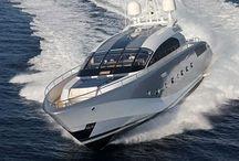 Yacht and car