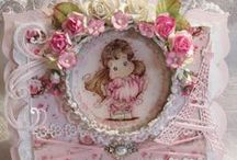 Rina's Magnolia Creations / These are all lovely creations using Magnolia stamps and doohickey dies!