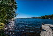 "Cabin on Blake ""Too""- Big Blake Lake, Balsam Lake, Wi / http://www.vrbo.com/740870 Cabin Vacation Rental- Big Blake Lake located in the city of Balsam Lake, Wi. VRBO property. Western Wisconsin. Lake Home."