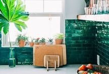HOME: Green Marble