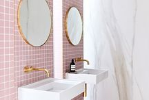 HOME: Pink tiles