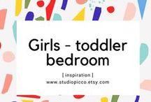 Girls- toddler bedroom