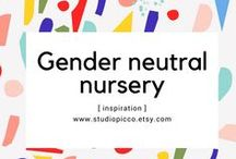Gender neutral/ Unisex nursery
