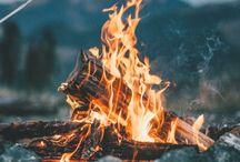 BONFIRES / Wenn die Kleidung nach Lagerfeuer riecht und um mich herum die Sterne am Horizont flimmern, genau dann fühle ich mich am wohlsten // Bonfires and Outdoor.