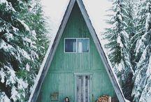 Cabin Porn / Ein Häuschen im Wald / my favorite cabins - Cabin Porn