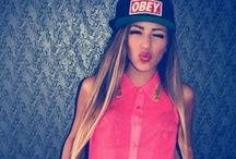 OBEY / SNAPBACKS/SHIRTS/SWEATERS/SWAGG/GIRLS/BOYS/SPORTIVE/BLACK/RED