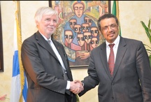 The visit of the Foreign Minister of Finland to Ethiopia / Dr Tedros Adhanom held talks on Tuesday (April 2nd) with a high level delegation from Finland led by Foreign Minister Erkki Tumioja and Minister for International Development, Heidi Hautala. The discussions focused largely on regional peace and security matters.