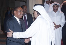 The visit of the Emir of Qatar to Ethiopia / The official visit of His Highness Sheikh Hamad Bin Khalifa Al-Thani, the Emir of Qatar, and Prime Minister, Sheikh Hamad bin Jassim bin Jaber Al Thani, to Ethiopia