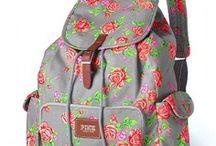 BACKPACKS / BACK TO SCHOOL/FLOWERS/STRIPES/ANIMAL PRINT/BAGS/SCHOOL
