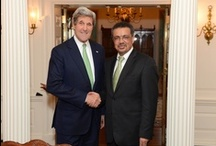 Dr. Tedros meets Secretary Kerry / Dr. Tedros meets US Secretary of State, John Kerry, and visits the US Department of State's Foreign Service Institute in Washington D.C