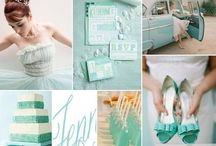 wedding: color palettes / by Denise Fuss