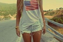 AMERICAN FLAG FASHION / AMERICAN FLAG/JEANS/SWEATERS/SHOES/BLUE/RED/WHITE/STARS/STRIPES/JACKETS/SHORTS