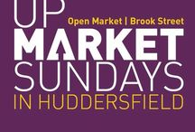 Upmarket Sunday at Huddersfield Market / Upmarket Sunday takes place on the second Sunday every month from 10am-3pm