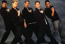 Cheesy '90s boyband pics / Because everything was happier.