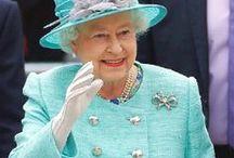 Queen Elizabeth II / Our rainbow monarch / by Dawn Goodwin