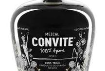 Mezcal CONVITE Productos / Nuestros Convites: Ensamble Silvestre, Tepextate, Coyote, Espadín-Madrecuixe, Espadín, Ensamble 6 Agaves, Tobalá
