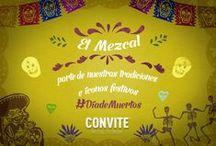 El convite y el Mezcal / Convite significa compartir y convivencia. Las fiestas en Oaxaca están llenas de color y vida.  ¡Una fiesta sin Mezcal, simplemente no es convite.