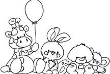Colour In Pages / Fun colouring pages for the little ones