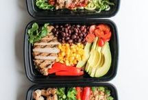 FOOD AND DRINK / healthy eats, recipes, meal prep ideas!