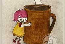 Mmmm Coffee....... / I looooooove coffee...