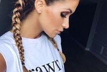 HAIRSTYLES / Gorgeous hair, hair tutorials and dream colours!