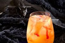 Halloween Cocktails / Make some spooky cocktail recipes for your upcoming Halloween party - whether it's for a crowd or just a quiet night at home giving candy to the neighborhood kids! Check out more awesome ideas at https://bevvy.co