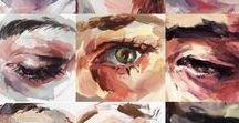 Szem festmények