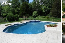 Pool Renovations before-after