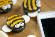 Insect crafts and treats